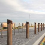 10. Custom timber bollards.
