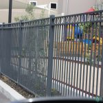 18. 1200mm high fence with decorative circles