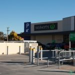 18.  Carpark bollards and trolley bays.