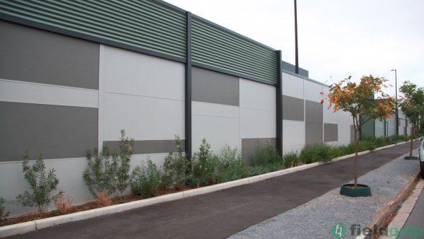 4.2 m Acoustic Wall,Cumberland Park, SA.